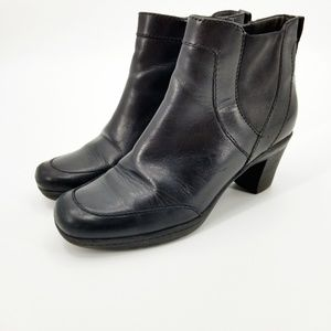 Clark's Black Ankle Boots Style 80486